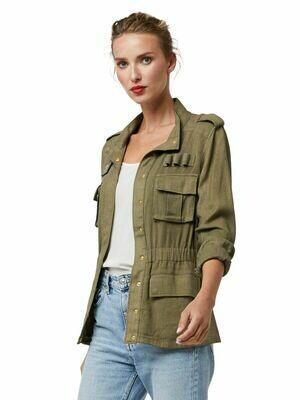 Military Olive Bulletproof Jacket