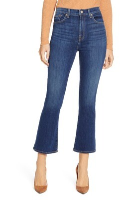 Fletcher High Waist Slim Kick Jeans