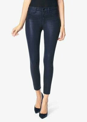 Midnight Oil Coated High Rise Skinny Ankle Jean