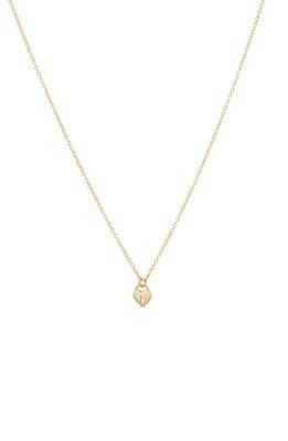 Heart Padlock Charm Necklace