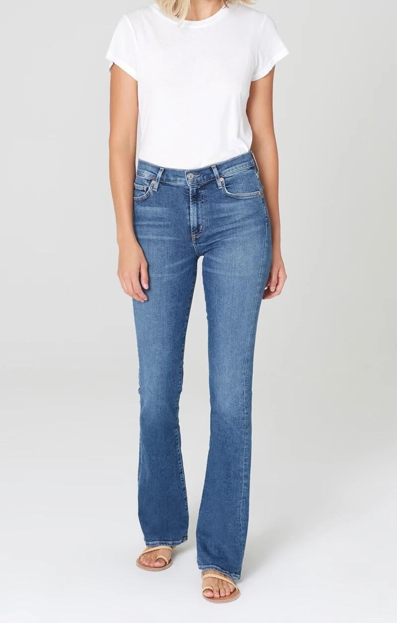 COH Emmanuelle Medium Indigo Slim Boot Jean