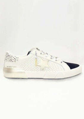 Mag White & Black Multi Sneaker
