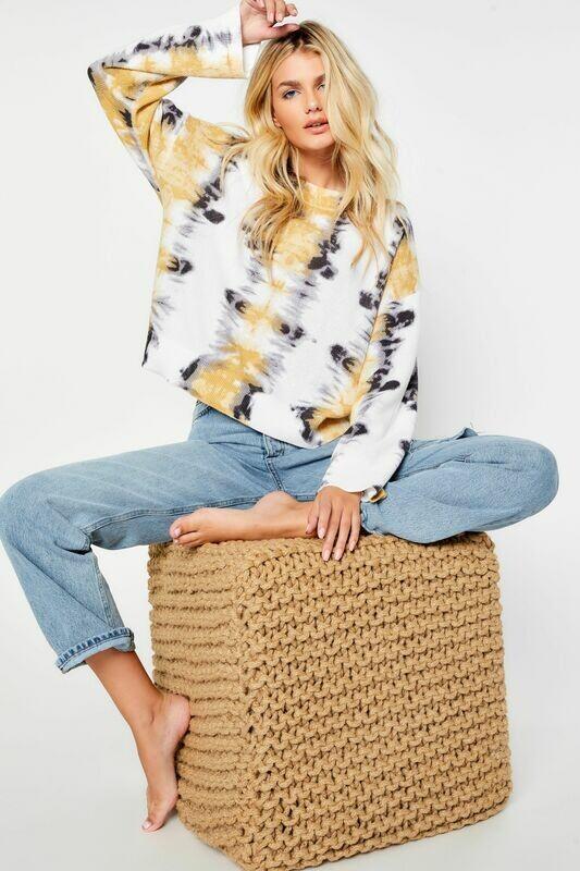 Gold Rush Boxy Sweater