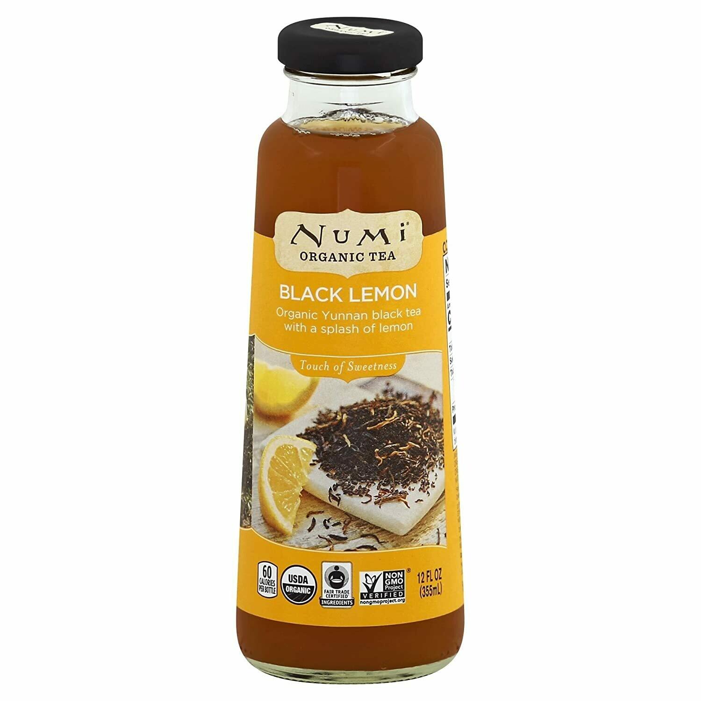 Numi Tea Black Lemon (12oz)