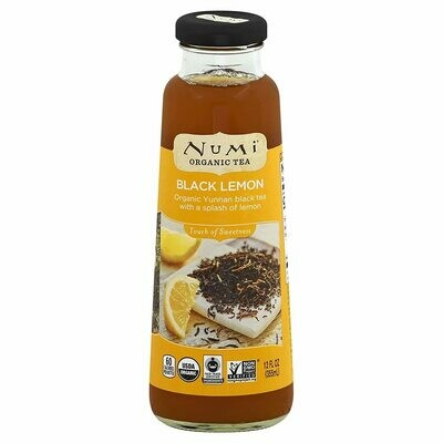 Numi Tea Black Lemon (12oz)