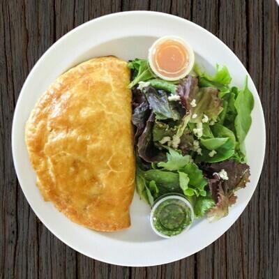 Combo 2 (1 large empanada + salad)