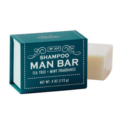 SHAMPOO MAN BAR 4OZ