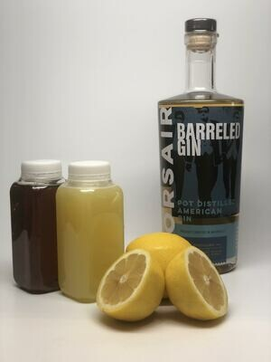 Barreled Gin Bee's Knees Kit