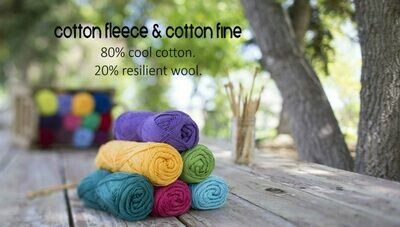 Cotton Fleece DK