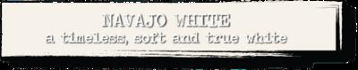 Chalk Paint - Navajo White - 4 oz.