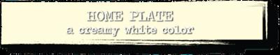 Chalk Paint - Home Plate - 4 oz.