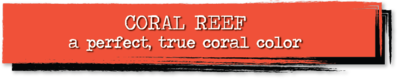 Chalk Paint - Coral Reef - 4 oz.