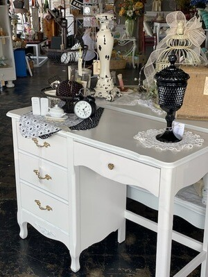 White French Provincial Desk