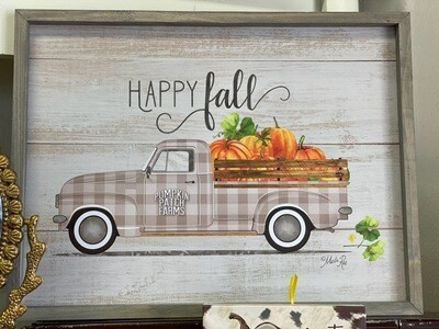 Happy Fall Truck Picture