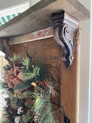 Reclaimed Door Hall Tree
