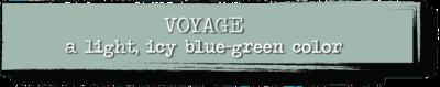 Chalk Paint - Voyage - 4 oz.