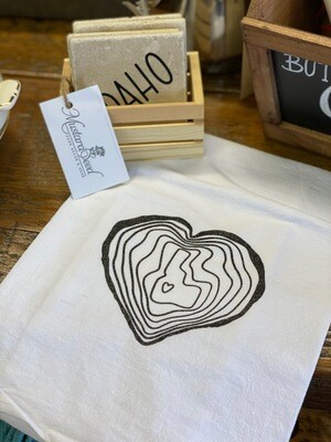 I Love This Place Tea Towel by C+A Designs