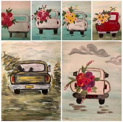 Vintage Truck Paint Class - Sat, Aug 7th - 11am