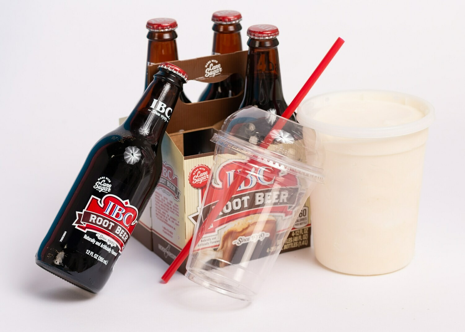 Root Beer Floats for 4