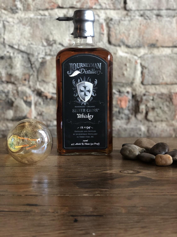 Journeyman Silver Cross Whiskey-Bottle
