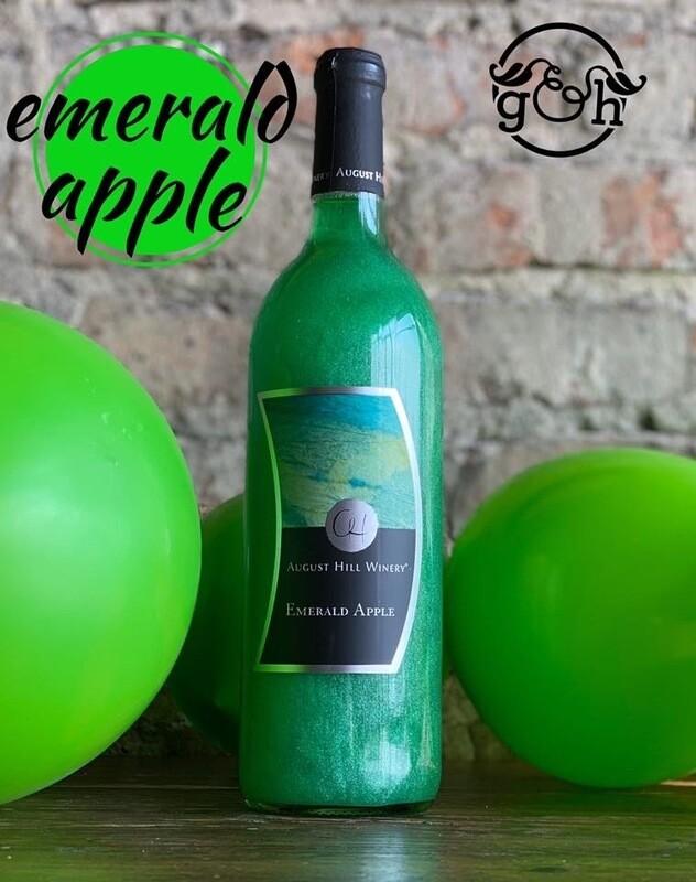 August Hill Emerald Apple-Bottle