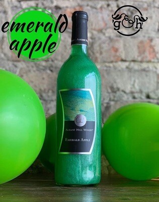 August Hill Emerald Apple-Bottle