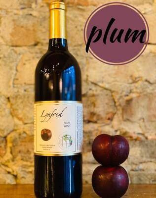 Lynfred Winery Plum-Bottle