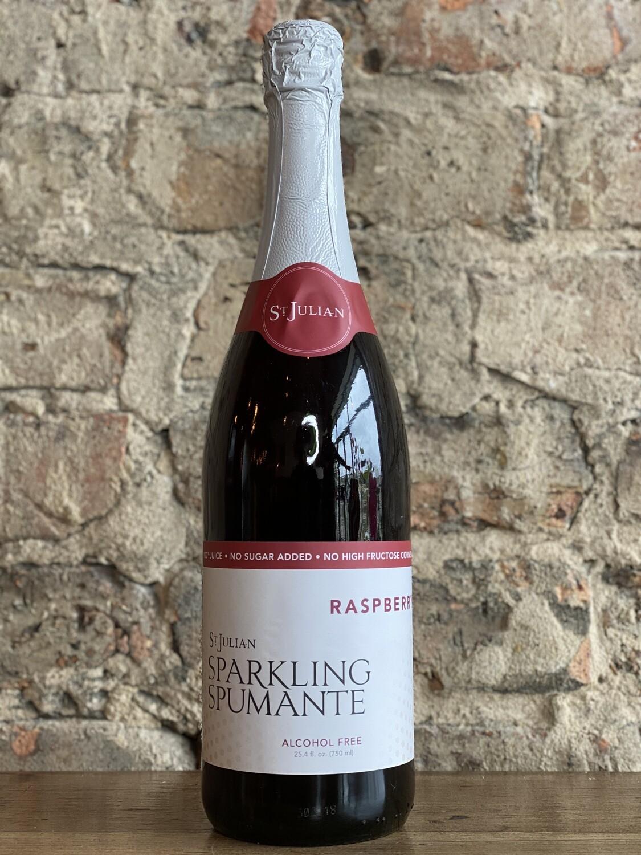 St Julian Raspberry Sparkling Juice-Bottle