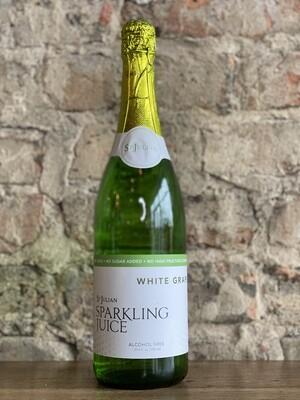 St Julian White Grape Sparkling Juice-Bottle