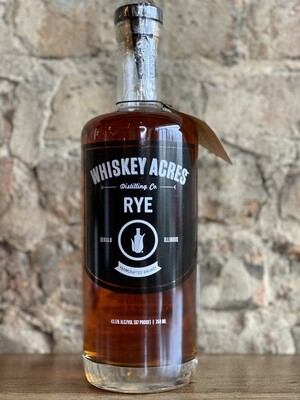Whiskey Acres Rye Whiskey-Bottle