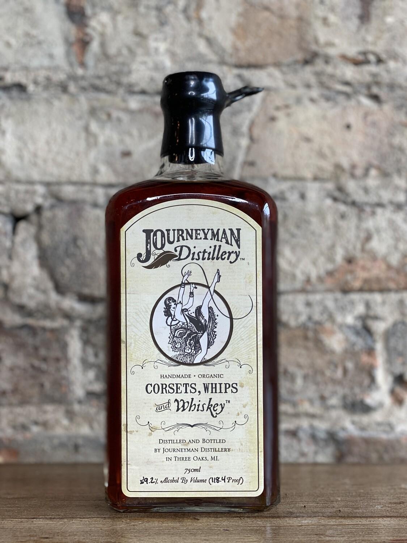 Journeyman Corsets, Whips & Whiskey-Bottle
