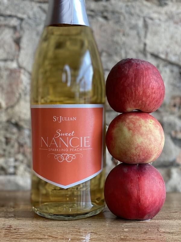 St Julian Sweet Nancie Peach-Bottle