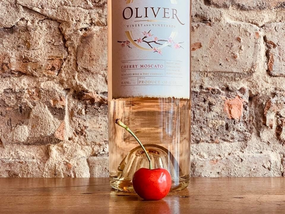 Oliver Winery Cherry Moscato