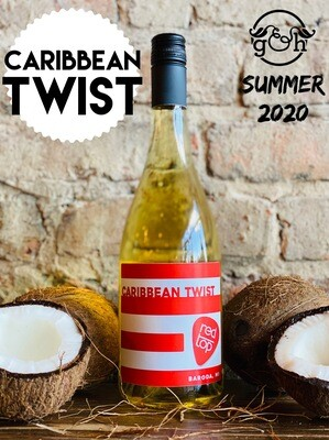 Red Top Caribbean Twist-Bottle