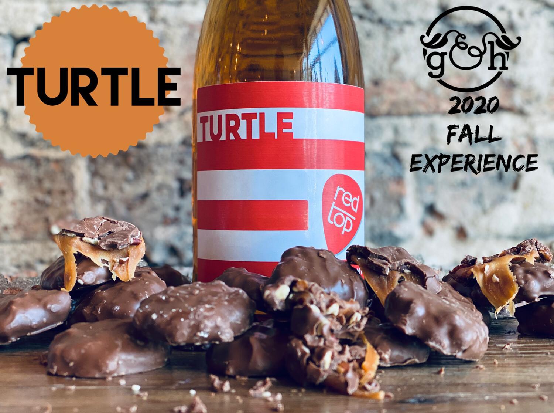 Red Top Turtle Cider-Bottle
