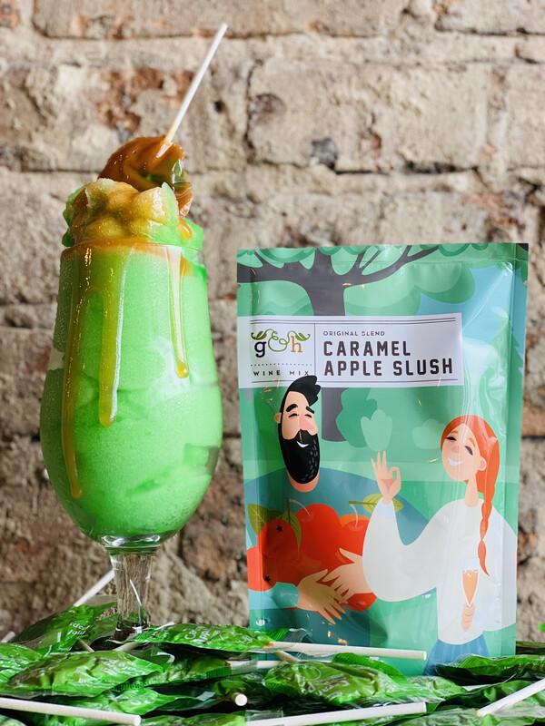 Caramel Apple Slushy Pouch