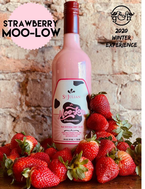 St Julian Strawberry Moo Low