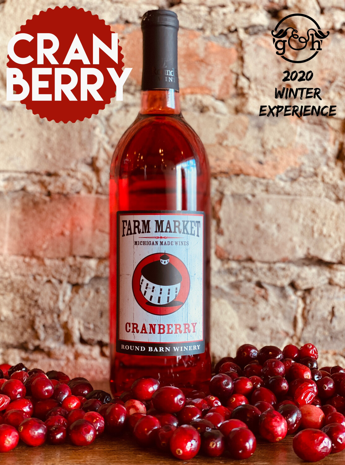 Round Barn Cranberry-Bottle