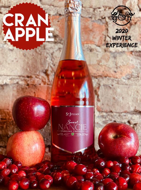 St Julian Sweet Nancie Cran Apple