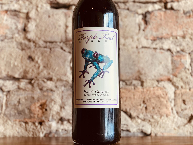 Purple Toad Black Currant-Bottle