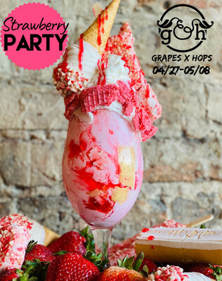 Strawberry Party Shake-TO-GO