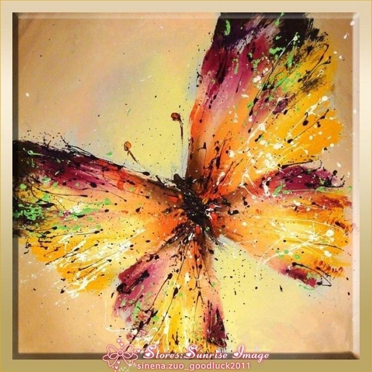 Let's Paint Together {Butterflies}