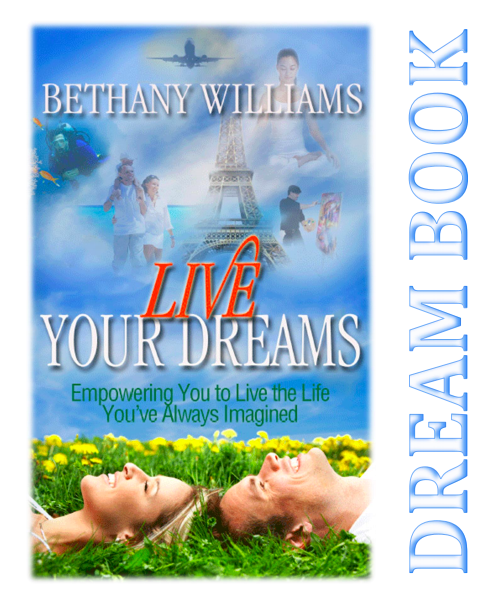 Live Your Dreams Dreambook (e-delivered)