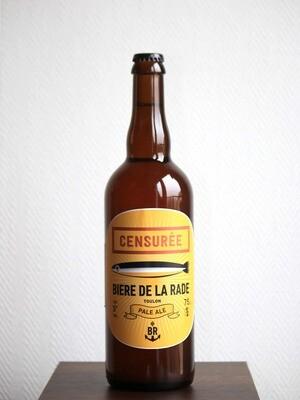 BIERE DE LA RADE - LA CENSUREE BLONDE 75 cl AUB