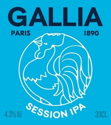 GALLIA SESSION IPA 33 cl AUB