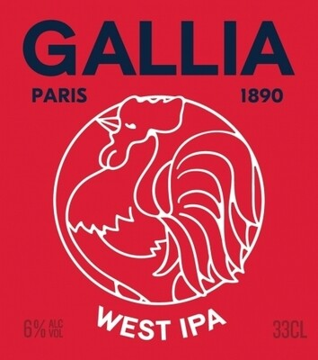 GALLIA WEST IPA 33 cl AUB