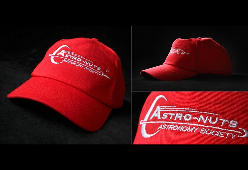 Astro-Nuts RED - Baseball Cap *Limited Edition*