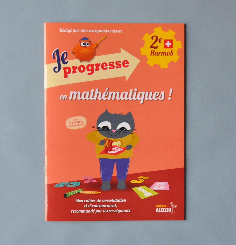 Je progresse en mathématiques - 2e Harmos