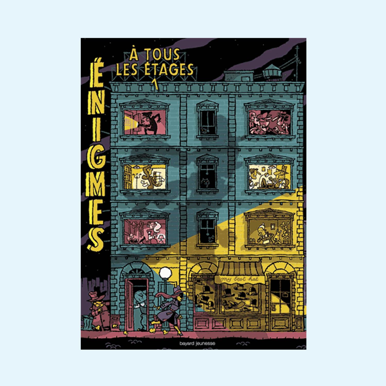 Enigmes à tous les étages - tome 1
