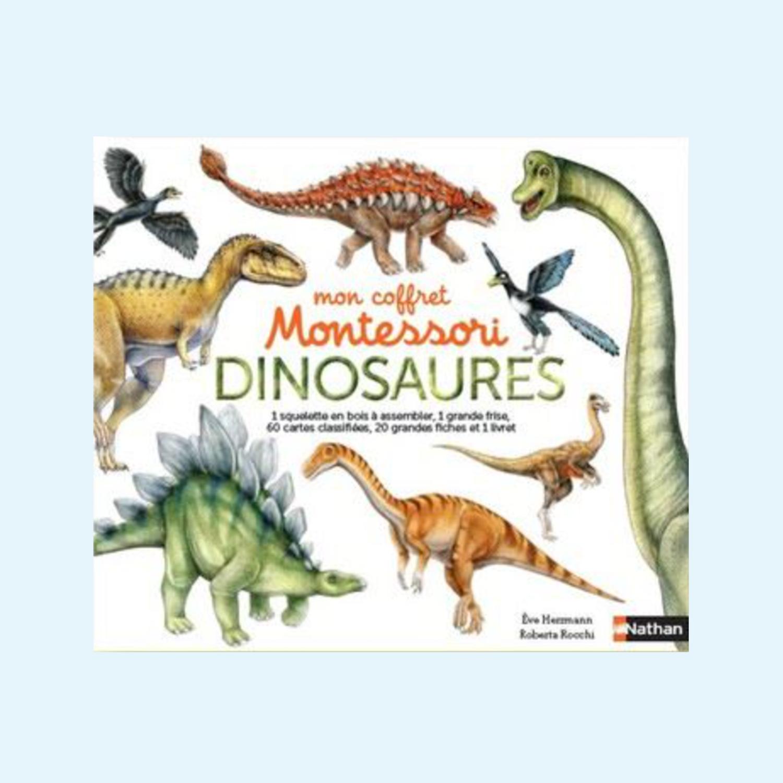 Mon coffret Montessori dinosaures